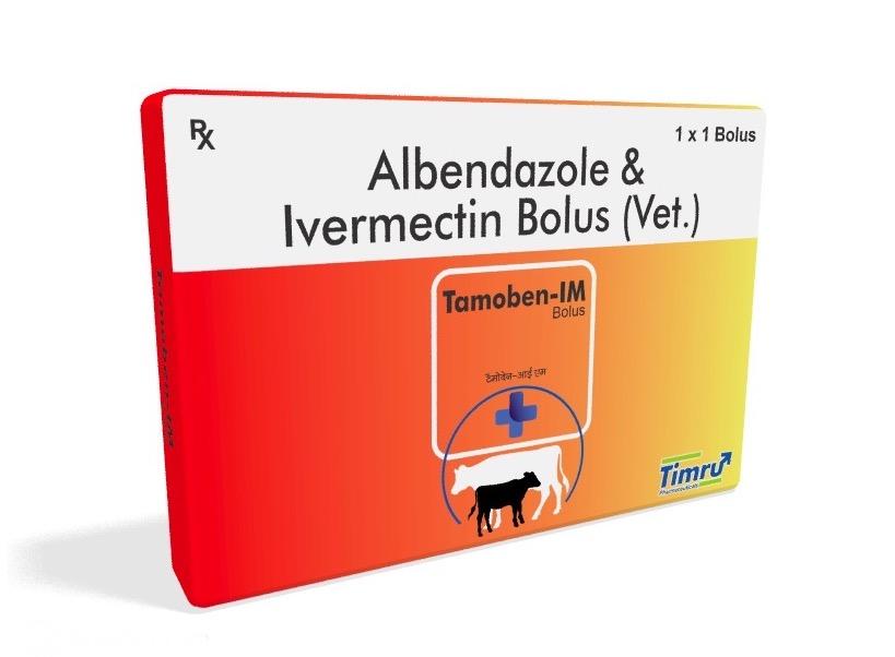 Veterinary Albendazole & Ivermectin Bolus
