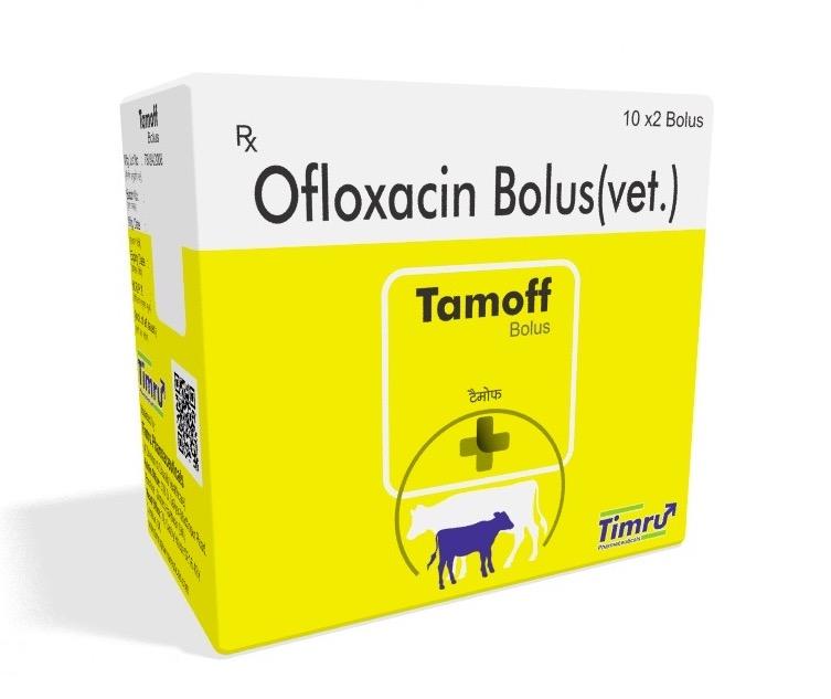 Veterinary Ofloxacin Bolus