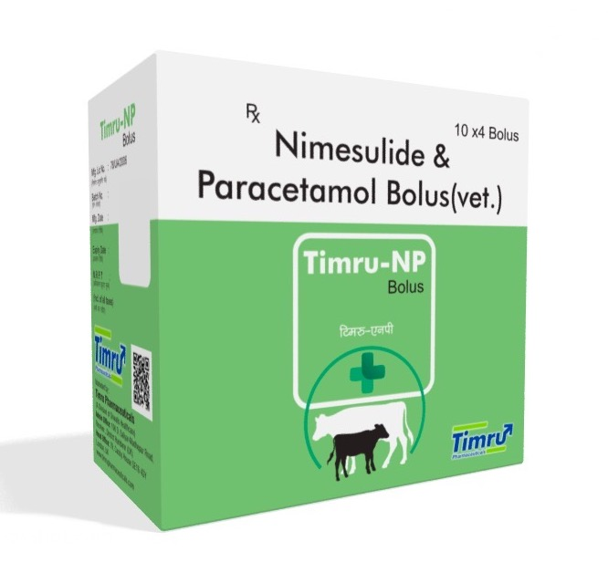 Veterinary Nimesulide & Paracetamol Bolus